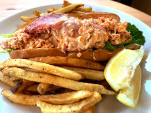 Chef Mike's Lobster Roll 1